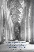 Cover-Bild zu Logan, Donald (Customer) (Hrsg.): The Register of Simon Sudbury, Archbishop of Canterbury, 1375-1381