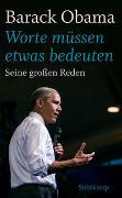 Cover-Bild zu Obama, Barack: »Worte müssen etwas bedeuten«