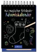 Cover-Bild zu Mein magischer Kritzkratz-Adventskalender