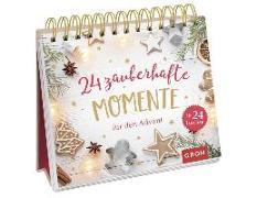 Cover-Bild zu 24 zauberhafte Momente für den Advent