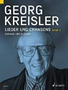 Cover-Bild zu Lieder und Chansons von Kreisler, Georg (Komponist)