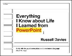 Cover-Bild zu Davies, Russell: Everything I Know about Life I Learned from PowerPoint