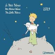 Cover-Bild zu Der Kleine Prinz 2021 - Wand-Kalender - Broschüren-Kalender - 30x30 - 30x60 geöffnet - Kinder-Kalender - Illustrationen von Saint-Exupéry, Antoine de