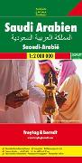 Cover-Bild zu Freytag-Berndt und Artaria KG: Saudi Arabien. 1:2'000'000