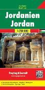 Cover-Bild zu Freytag-Berndt und Artaria KG (Hrsg.): Jordanien. 1:700'000