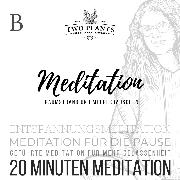 Cover-Bild zu Meditation Traumstrand und Meeresrauschen - Meditation B - 20 Minuten Meditation (Audio Download) von Heyn, Christiane M.