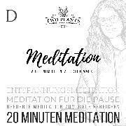 Cover-Bild zu Meditation Auf einem orientalischen Markt - Meditation D - 20 Minuten Meditation (Audio Download) von Heyn, Christiane M.