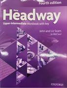 Cover-Bild zu New Headway: Upper-Intermediate B2: Workbook with Key von Soars, John