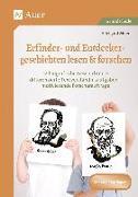 Cover-Bild zu Erfinder- & Entdeckergeschichten lesen & forschen von Moers, Edelgard
