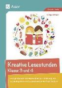 Cover-Bild zu Kreative Lesestunden Klasse 3 und 4 von Moers, Edelgard