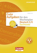 Cover-Bild zu Gute Aufgaben für den Wochenplan 3./4. Schuljahr. Deutsch. Sachtexte. Kopiervorlagen von Moers, Edelgard