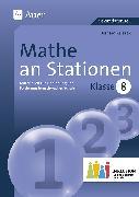 Cover-Bild zu Mathe an Stationen 8 Inklusion von Ksiazek, Bernard