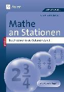 Cover-Bild zu Mathe an Stationen, Bruchrechnen von Breidenbach, Christine