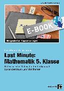 Cover-Bild zu Last Minute: Mathematik 5. Klasse (eBook) von Ksiazek, Bernard