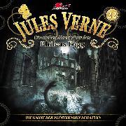 Cover-Bild zu Jules Verne, Die neuen Abenteuer des Phileas Fogg, Folge 22: Die Gasse der flüsternden Schatten (Audio Download) von Freund, Marc
