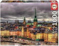 Cover-Bild zu Educa (Hrsg.): Educa Puzzle. Views of Stockholm 1000 Teile