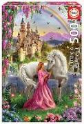 Cover-Bild zu Educa (Hrsg.): Educa Puzzle. Fairy and Unicorn 500 Teile
