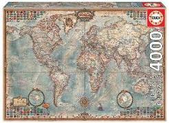 Cover-Bild zu Educa (Hrsg.): Educa Puzzle. Historic World Map 4000 Teile