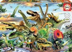 Cover-Bild zu Educa (Hrsg.): Educa Puzzle. Dinosaurs 500 Teile