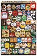 Cover-Bild zu Educa (Hrsg.): Educa Puzzle. Beer labels collage 1500 Teile
