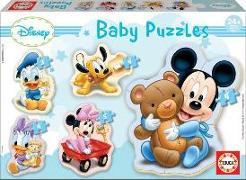 Cover-Bild zu Educa (Hrsg.): Educa Puzzle. Baby Puzzles Mickey 3/3x4/5 Teile