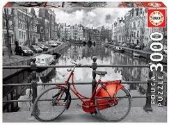 Cover-Bild zu Educa (Hrsg.): Educa Puzzle. Amsterdam black & white 3000 Teile