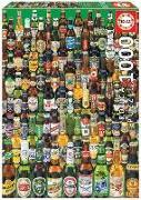 Cover-Bild zu Herausgegeben von Educa (Hrsg.): Educa Puzzle - Beers 1000 Teile