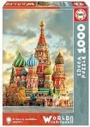 Cover-Bild zu Educa (Hrsg.): Educa Puzzle. St Basil's Cathedral 1000 Teile