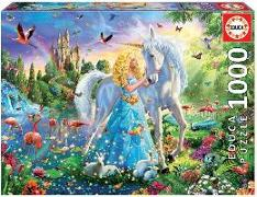 Cover-Bild zu Educa (Hrsg.): Educa Puzzle. The Princess and the Unicorn 1000 Teile