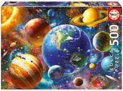 Cover-Bild zu Educa (Hrsg.): Educa Puzzle. Solar system 500 Teile