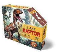 Cover-Bild zu Herausgegeben von Educa (Hrsg.): MADD CAPP Shape Puzzle Junior - Velociraptor 100 Teile