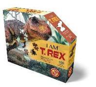 Cover-Bild zu Herausgegeben von Educa (Hrsg.): MADD CAPP Shape Puzzle Junior - T-Rex 100 Teile
