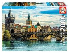 Cover-Bild zu Herausgegeben von Educa (Hrsg.): Educa Puzzle - View of Prague 2000 Teile