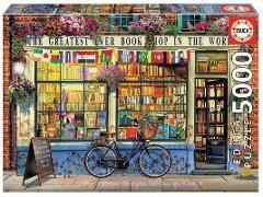 Cover-Bild zu Herausgegeben von Educa (Hrsg.): Educa Puzzle - Bookshop in the World 5000 Teile