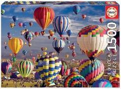 Cover-Bild zu Educa (Hrsg.): Educa - Heissluftballons 1500 Teile Puzzle
