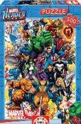 Cover-Bild zu Educa (Hrsg.): Educa - Marvel Super Heroes 500 Teile Puzzle