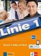 Cover-Bild zu Linie 1 B2. Kurs- und Übungsbuch Teil 2 mit Audios und Videos von Moritz, Ulrike