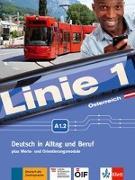Cover-Bild zu Linie 1 A1.2. Kurs- und Übungsbuch mit DVD-ROM. Ausgabe für Österreich von Kaufmann, Susan