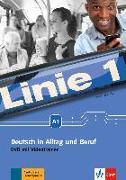 Cover-Bild zu Linie 1 A1 - Deutsch in Alltag und Beruf: DVD von Scherling, Theo