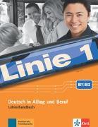 Cover-Bild zu Linie 1 B2. Lehrerhandbuch mit 4 Audio-CDs und DVD-Video mit Videotrainer von Wirth, Katja