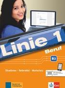 Cover-Bild zu Linie 1 Beruf B2. Kurs- und Übungsbuch mit Audios von Kaufmann, Susan