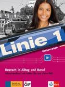 Cover-Bild zu Linie 1 Österreich B1. Lehrerhandbuch mit Audio-CDs und Video-DVD von Wirth, Katja