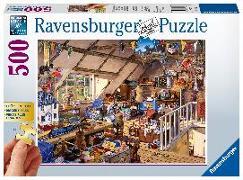 Cover-Bild zu Großmutters Dachboden 500 Teile