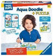 Cover-Bild zu Aqua Doodle® Puzzle: Heimische Tiere