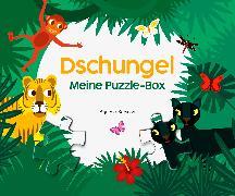 Cover-Bild zu Baruzzi, Agnese (Illustr.): Meine Puzzle-Box Dschungel
