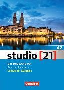 Cover-Bild zu studio [21] A2. Schweizer Ausgabe. Kurs- und Übungsbuch mit Lösungen von Funk, Hermann