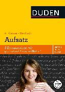 Cover-Bild zu Wissen - Üben - Testen: Deutsch - Aufsatz 4. Klasse (eBook) von Holzwarth-Raether, Ulrike