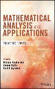 Cover-Bild zu Mathematical Analysis and Applications (eBook) von Dutta, Hemen (Hrsg.)