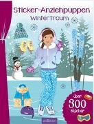 Cover-Bild zu Schindler, Eva (Gestaltet): Sticker-Anziehpuppen Wintertraum