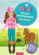 Cover-Bild zu Schindler, Eva (Gestaltet): Mini-Sticker-Anziehpuppen Reiterhof